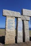 Monument in Coruña, Galicia Stock Photos