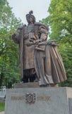 Monument cossack hetman Pylyp Orlyk. Kiev Royalty Free Stock Photos