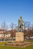 Monument for czech painter Josef Manes. Royalty Free Stock Photography