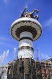 Monument d'Alexandre le grand, Skopje Photo stock