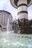 Monument d'Alexandre le grand, Skopje Image stock
