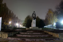Monument d'amitié Image libre de droits