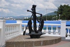 Monument d'ancre Images libres de droits