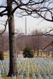 Monument d'Arlington et de Washington photographie stock