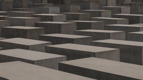 Monument d'holocauste à Berlin, Allemagne Photo stock