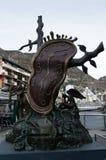 Monument d'horloge par Salvador Dali Images libres de droits