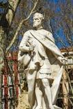 Monument d'Ordono II De Léon à Madrid Image stock