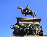 Monument d'Osvoboditel de tsar, Sofia, Bulgarie Photo stock