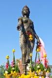 Monument Dame Chamadevi Lizenzfreie Stockbilder