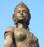 Monument Dame Chamadevi Lizenzfreie Stockfotos