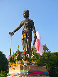 Monument Dame Chamadevi Lizenzfreie Stockfotografie