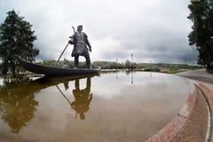 Monument dans Gomel photo stock