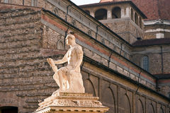 Monument dans la ville de Florence Image stock