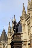 Monument de barre de temple, Londres Images stock