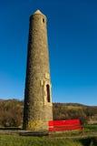 Monument de bataille de crayon dans Largs, Ecosse image libre de droits