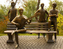 Monument de Beatles Image libre de droits