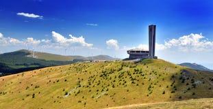 Monument de Buzludzha photo libre de droits