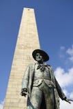 Monument de côte de soute Images libres de droits