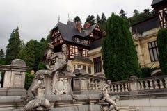 Monument de château de Peles Image libre de droits
