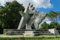 Monument de Che Guevara dans les las Terrazas, Pinar del Rio Photographie stock libre de droits