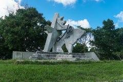 Monument de Che Guevara dans les las Terrazas, Pinar del Rio Photos libres de droits