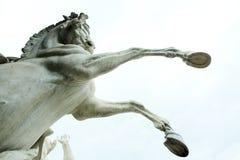 Monument de cheval Photographie stock libre de droits