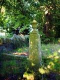 Monument de cimetière Photo libre de droits