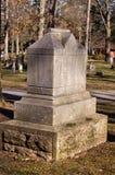 Monument de cimetière Images libres de droits