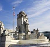Monument de Columbus Image libre de droits