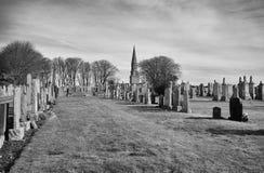 Monument de Culsh et cimetière de Commonwealth dans le nouvel aberdeenshire Ecosse de cerfs communs Image libre de droits