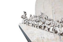 Monument de découvertes à Lisbonne Photographie stock libre de droits