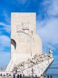 Monument de découvertes Image libre de droits