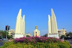 Monument de démocratie d'â de borne limite de Bangkok Image stock