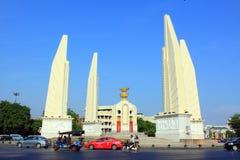 Monument de démocratie d'â de borne limite de Bangkok Photos libres de droits