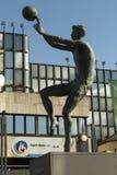 Monument de ‡ d'en PetroviÄ de ¾ de DraÅ à Zagreb, Croatie Photographie stock