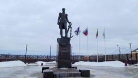 Monument de Dmitry Senyavin dans Borovsk Photographie stock