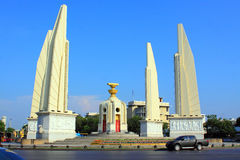 Monument de démocratie d'â de borne limite de Bangkok Image libre de droits