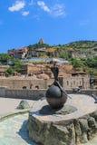 Monument de faisan dans l'abanotubani Photographie stock libre de droits