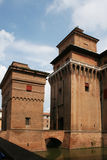 Monument de Ferrare Photos libres de droits