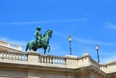 Monument de Franz Joseph à Vienne Image libre de droits
