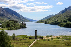 Monument de Glenfinnan Images libres de droits