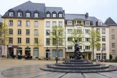 Monument de Grande -Duchesse Charlotte Images stock