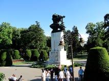 Monument de gratitude vers la France devant la forteresse de Kalemegdan à Belgrade, Serbie photo libre de droits