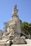 Monument de guerre Images libres de droits
