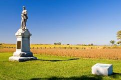 Monument de guerre civile Image libre de droits