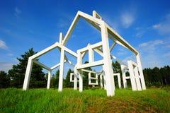 Monument de guerre sur Nevsky Pyatachok Images libres de droits