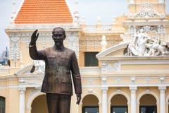 Monument de Hô Chi Minh images stock