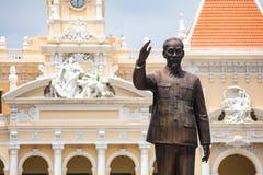 Monument de Hô Chi Minh photographie stock libre de droits
