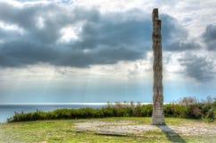 Monument de Kaliakra en Bulgarie photo stock
