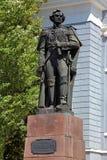 Monument de l'amiral russe Fyodor Ushakov dans Kherson Photo libre de droits